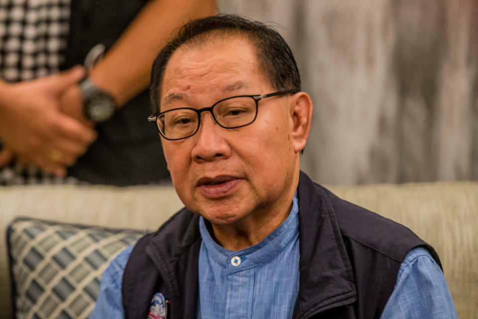Sabah Deputy Chief Minister Datuk Seri Jeffrey Kitingan said the Territorial Sea Act 2012 was unconstitutional. — File picture by Firdaus Latif