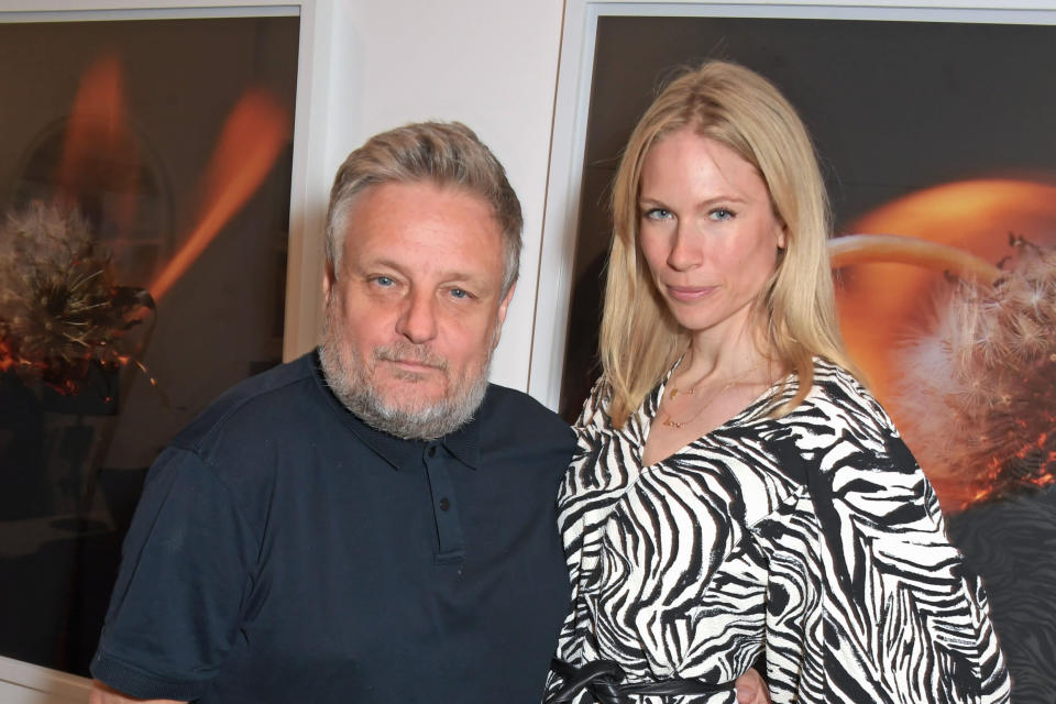 Rankin and Tuuli Shipster attend Rankin's open studio weekend in celebration of Photo London 2021 at Annroy Studio (Dave Benett)