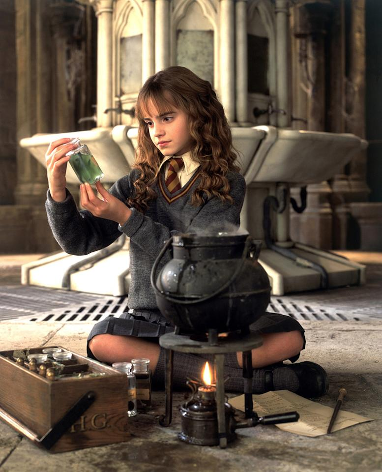 """MOVIE: """"<a href=""""http://movies.yahoo.com/movie/1807858489/info"""">Harry Potter and the Chamber of Secrets</a>"""" (2002)  AGE: 12"""