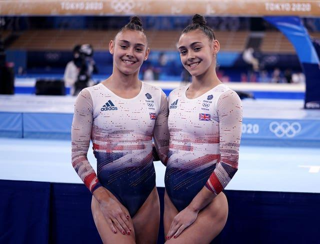 The Gadirova twins go up against each other in the women's floor final