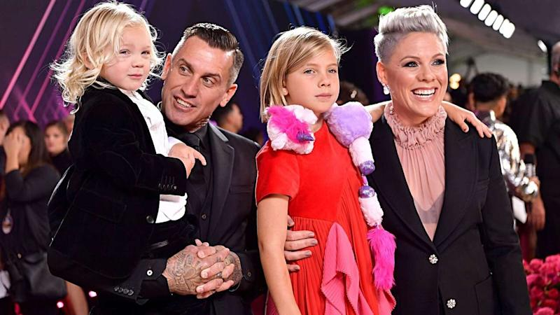Pink Makes 2019 People's Choice Awards a Family Affair As She Accepts Champion Award: Pics!