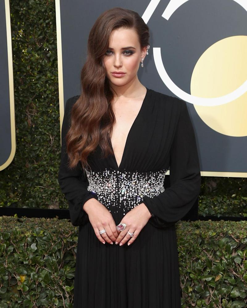 Katherine has been nominated for 13 Reasons Why. Photo: Getty