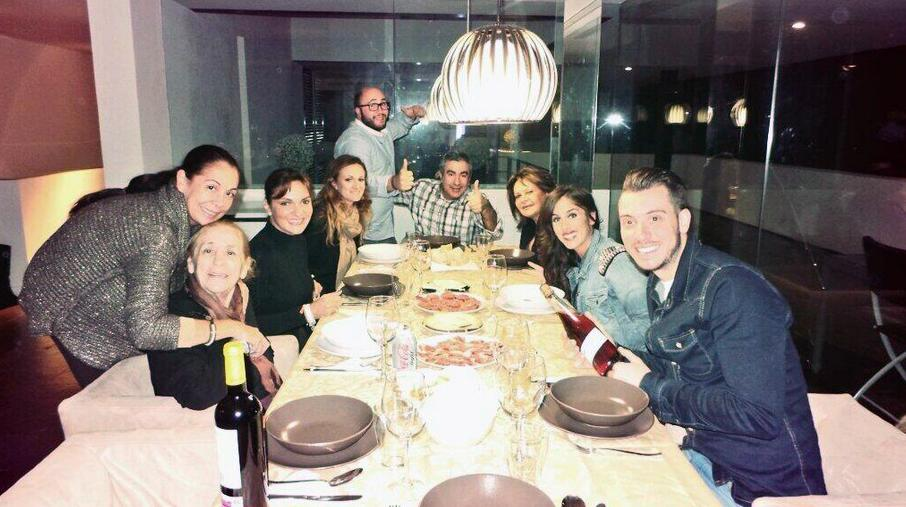 SPAIN - SEPTEMBER 29: Ana Martin with her family, on January 6, 2014, in Cadiz, Spain . (Photo By Europa Press Reportajes via Getty Images)