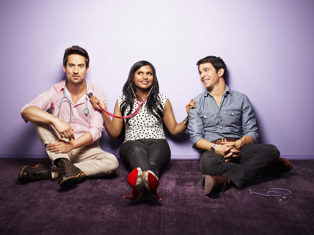 "<b>""The Mindy Project""</b> <b>(Fall Comedy)</b><br><br>Created by Emmy-nominated writer/producer and New York Times best-selling author Mindy Kaling (""The Office"") and starring Kaling, Chris Messina (""Damages""), Anna Camp (""The Good Wife""), and newcomer Ed Weeks, ""The Mindy Project"" features Kaling as a skilled OB/GYN navigating the tricky waters of both her personal and professional life, as she pursues her dreams of becoming the perfect woman, finding the perfect man, and getting her perfect romantic comedy ending."