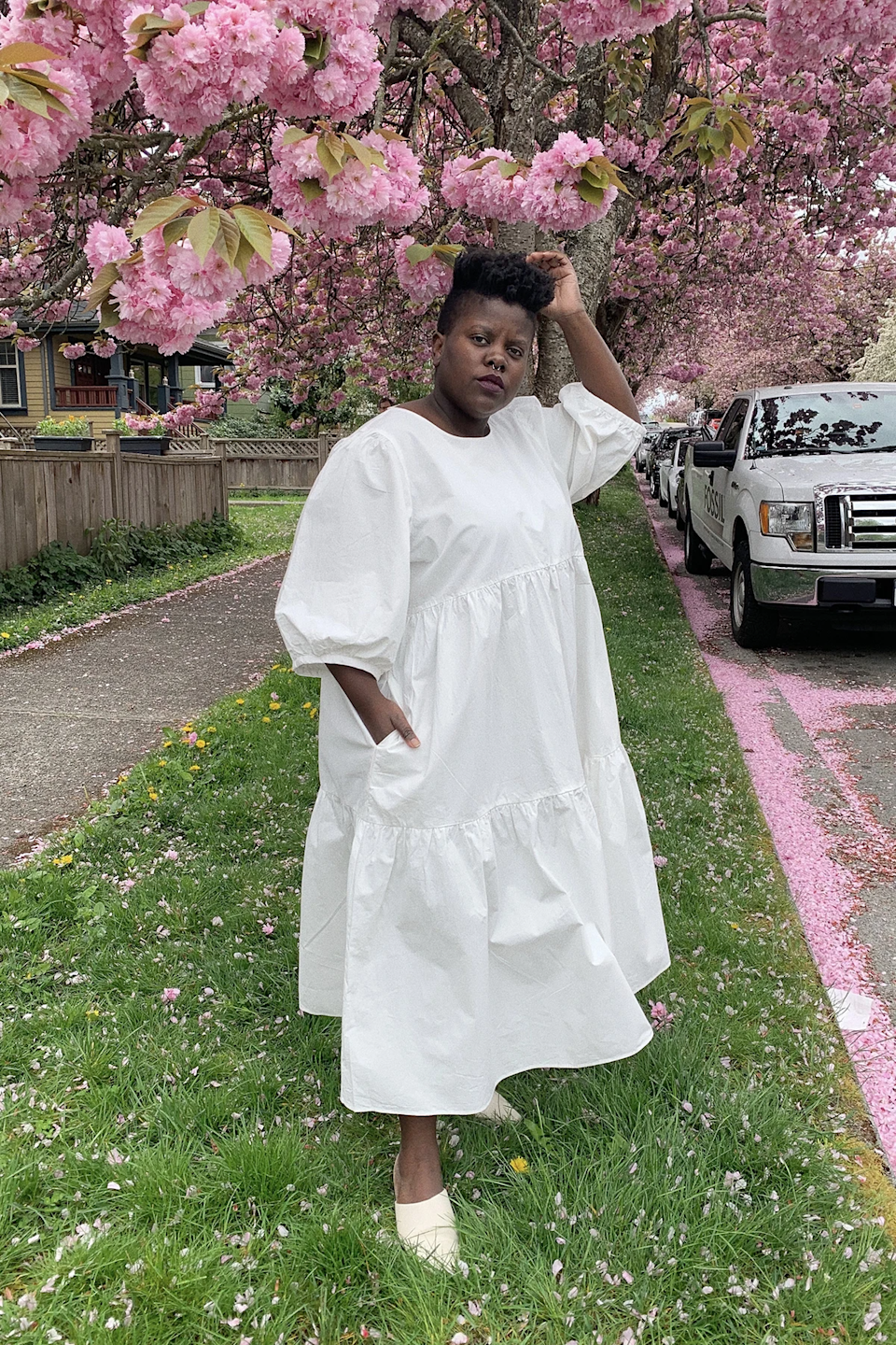 """<br> <br> <strong>Wray</strong> Rosemary Dress, $, available at <a href=""""https://go.skimresources.com/?id=30283X879131&url=https%3A%2F%2Fwray.nyc%2Fcollections%2Ffrontpage%2Fproducts%2Frosemary-dress-3"""" rel=""""nofollow noopener"""" target=""""_blank"""" data-ylk=""""slk:Wray"""" class=""""link rapid-noclick-resp"""">Wray</a>"""
