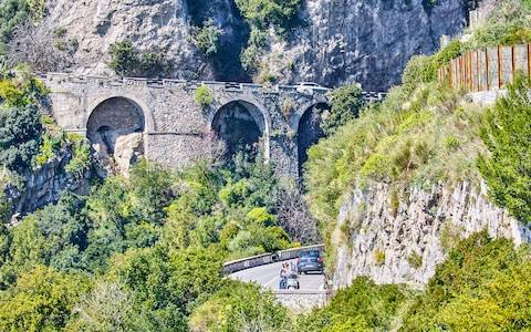 Roads on the Amalfi Coast - Credit: Peter Unger/Peter Unger
