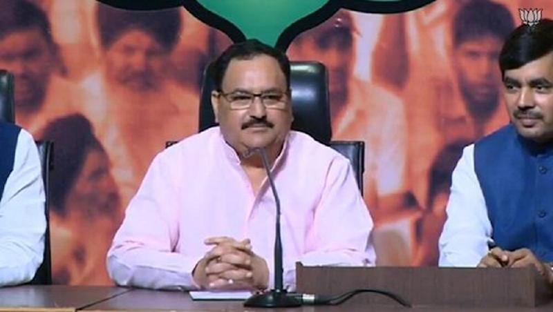 Congress Conspired to Break Kashmir Away from India Through Article 370, Says JP Nadda