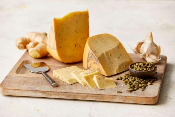 PHOTO: Ginger pumpkin seed gouda from Artikaas Dutch Cheesemakers available from The Fresh Market. (The Fresh Market )