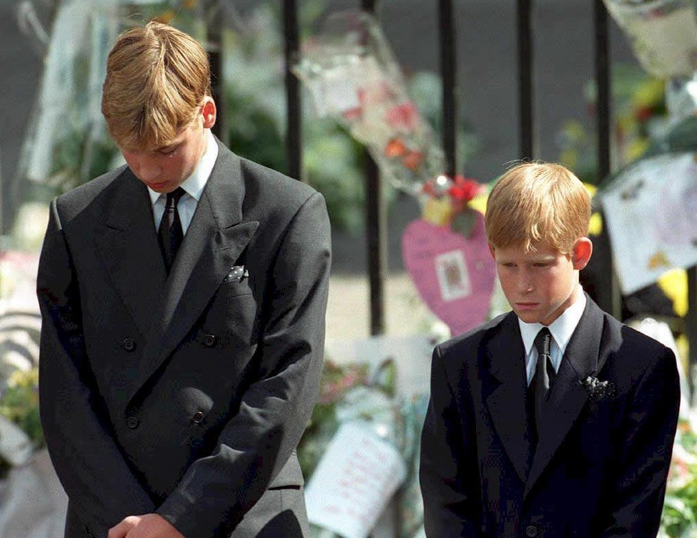 In the weeks leading up to the 20th anniversary of her death, Prince William and Prince Harry have opened up about the pain of losing their mother Diana, Princess of Wales (AFP Photo/ADAM BUTLER)