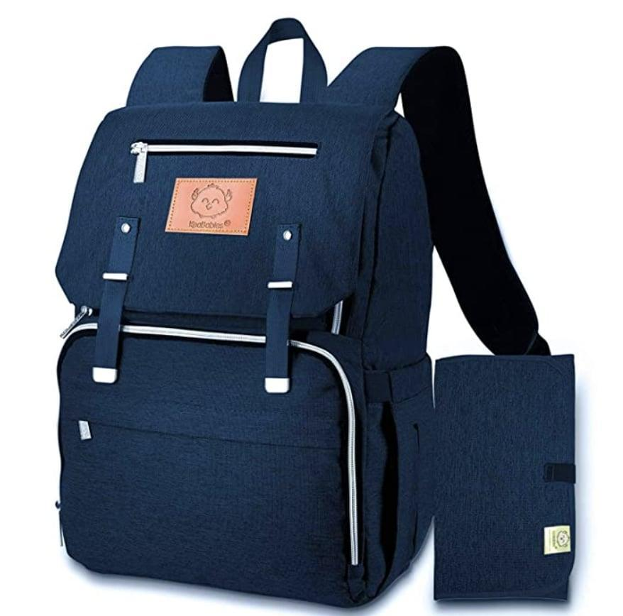 <p>This <span>Diaper Bag Backpack</span> ($38) looks durable and spacious enough for all of baby's essentials.</p>