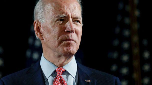 PHOTO: Democratic presidential candidate and former Vice President Joe Biden speaks about responses to the COVID-19 coronavirus pandemic at an event in Wilmington, Del., March 12, 2020. (Carlos Barria/Reuters, FILE)