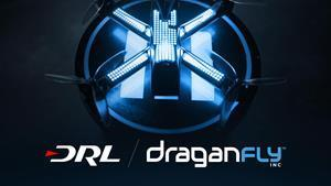 Draganfly, a global UAV leader, partners with DRL to advance drone racing and humanitarian aid through new groundbreaking technology
