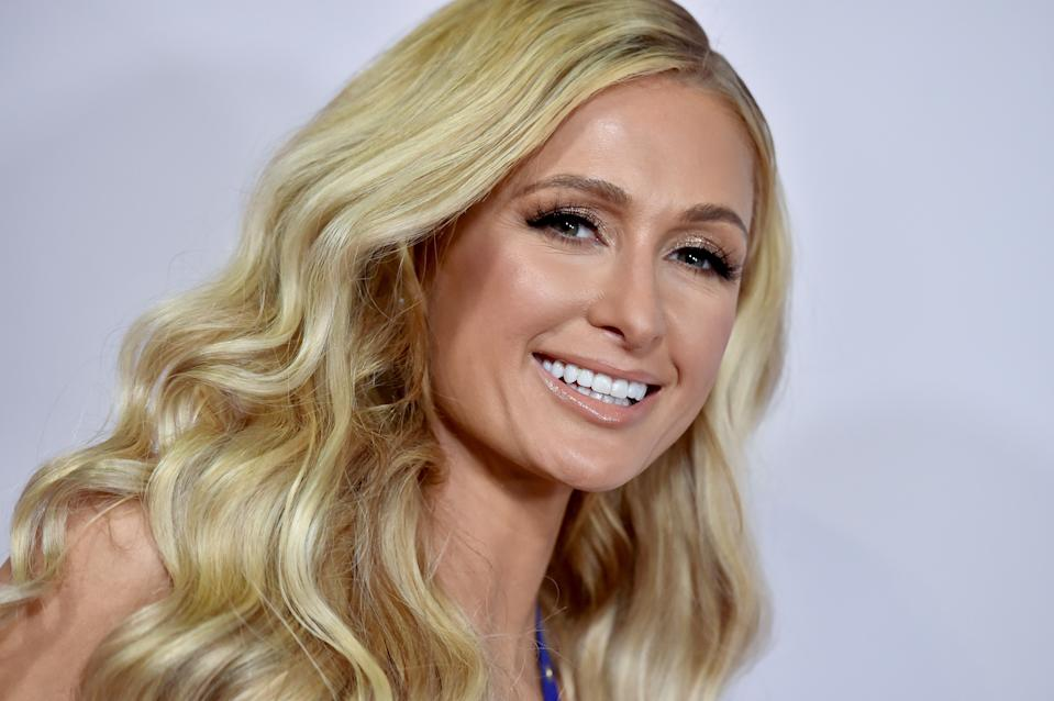 Paris Hilton (pictured) revealed the truth behind a 2006 photo of herself, Britney Spears and Lindsay Lohan. (Photo: Axelle/Bauer-Griffin/FilmMagic)