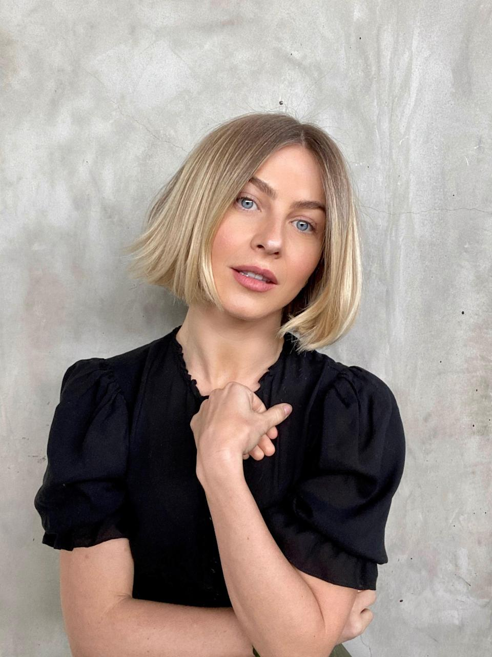 """""""I think 2021 will be all about structure. Out with the messy texture; in comes the polished structure,"""" says Riawna Capri, co-owner of <a href=""""https://www.ninezeroonesalon.com/"""" rel=""""nofollow noopener"""" target=""""_blank"""" data-ylk=""""slk:Nine Zero One"""" class=""""link rapid-noclick-resp"""">Nine Zero One</a> in L.A. She says that fuzzy, bedhead hair is being traded in for more sleek styles of all lengths, and you can expect to see """"more blunt, thick lines in haircuts instead of shattered, piecey texture."""""""