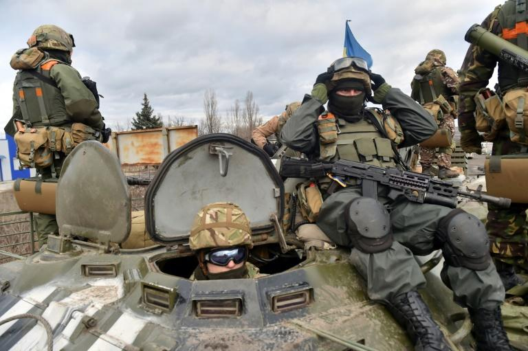 Ukraine marks three years since launching a campaign against Russian-backed eastern separatists