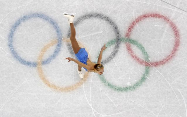 Figure Skating - Pyeongchang 2018 Winter Olympics - Women Single Skating free skating competition final - Gangneung Ice Arena - Gangneung, South Korea - February 23, 2018 - Bradie Tennell of the U.S. competes. REUTERS/Lucy Nicholson