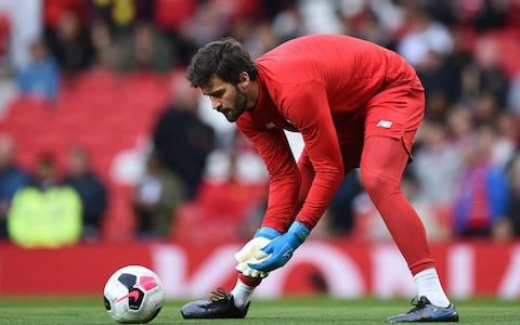 Alisson - Credit: AFP