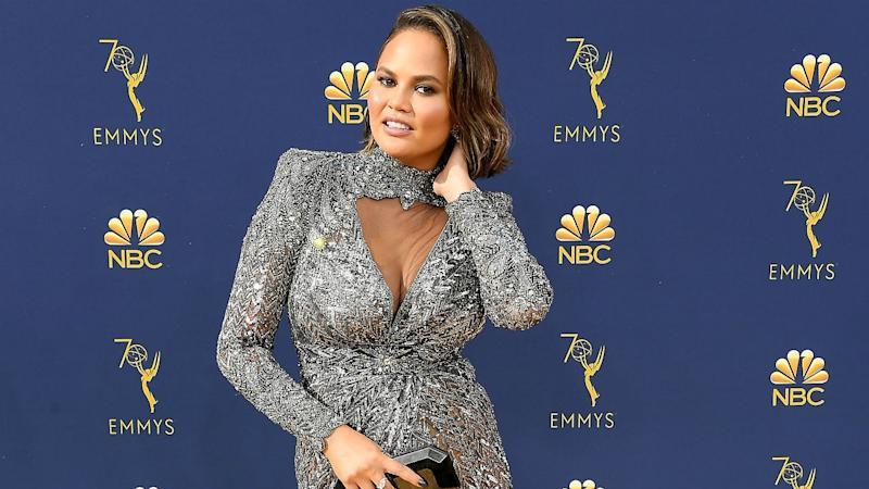 Chrissy Teigen Is Not Impressed After Fan Asks If She's Pregnant Four Months After Giving Birth