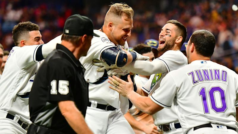 Rays move ahead of Indians in American League wild-card race