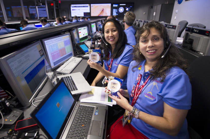 NASA's Jet Propulsion Lab Holds Viewing Of Mars Curiosity Rover Landing (Bill Ingalls / NASA / Getty Images)
