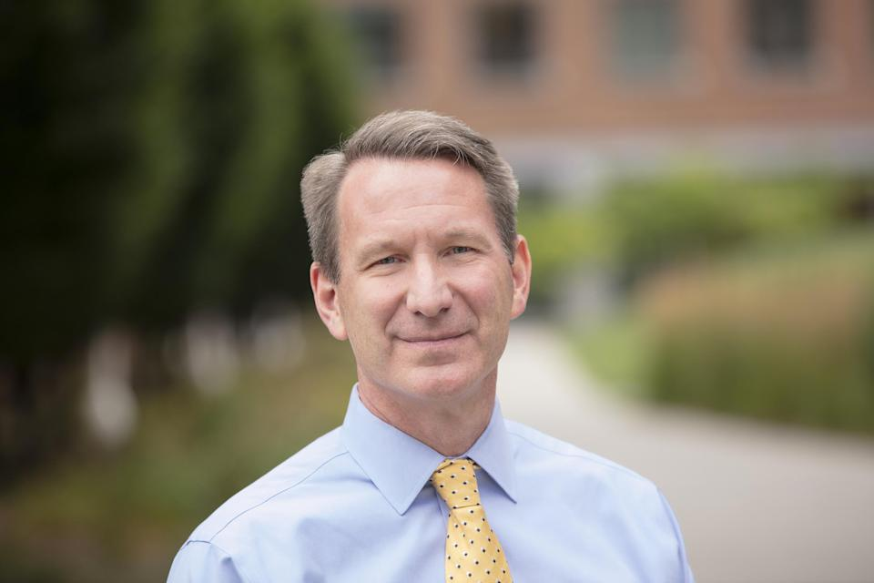 """Ned Sharpless, director of the National Cancer Institute, says the United States is in a """"golden age"""" of cancer research."""