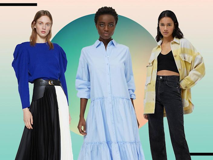 <p>Stock up your spring wardrobe with these stylish buys(iStock/The Independent)</p> (The Independent/iStock)