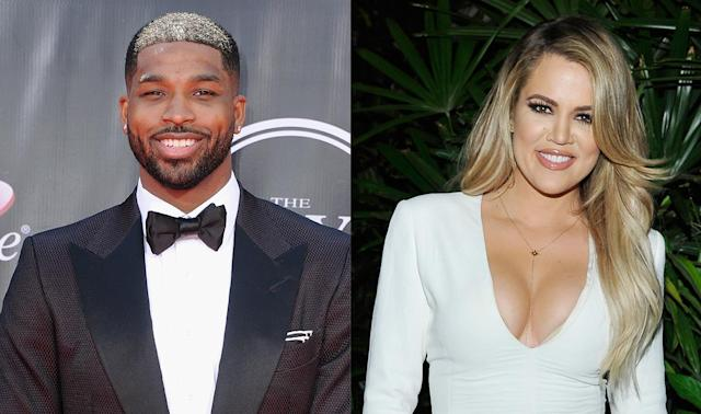 Tristan Thompson and Khloe Kardashian (Photos: Getty Images)