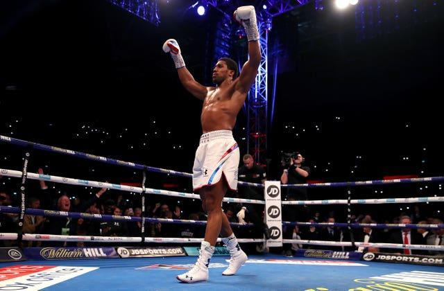 Anthony Joshua sys he will not be going all out for the knockout (Nick Potts/PA)