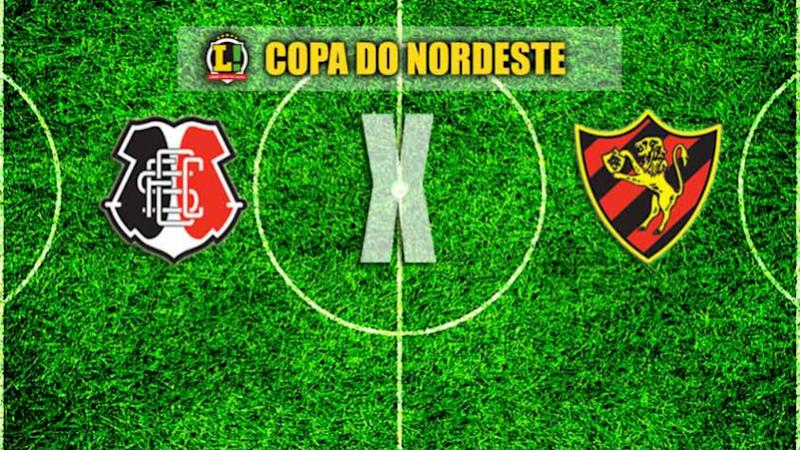 Sport e Santa Cruz decidem vaga na final da Copa do Nordeste