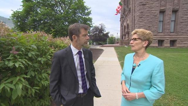 Kathleen Wynne still weighing options for marijuana sales