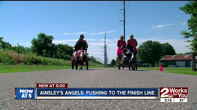 A group of runners in Tulsa is making running in a marathon possible for people who otherwise could not.