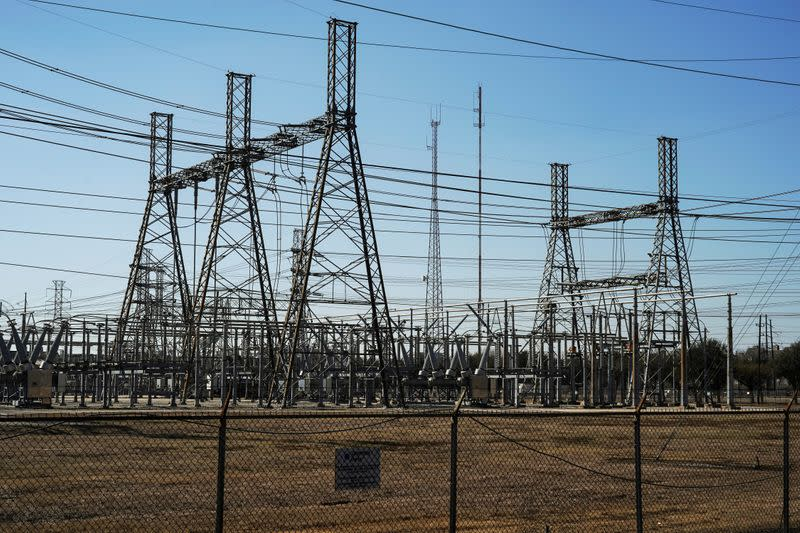 FILE PHOTO: Winter weather caused electricity blackouts in Houston