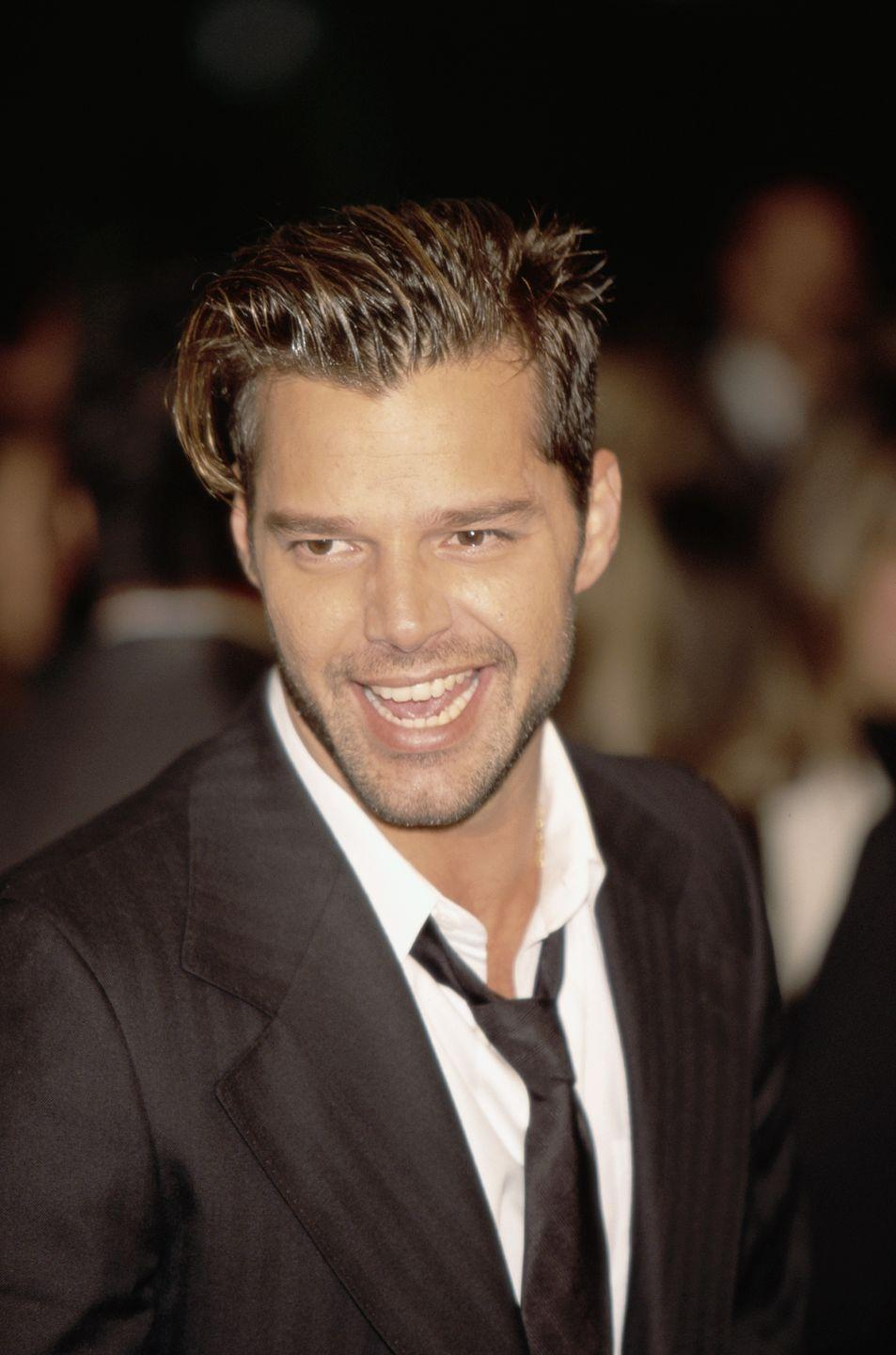 <p>Ricky was H-O-T in the '90s, mostly thanks to his worldwide hit <em>Living La Vida Loca</em>. Total babe alert </p>