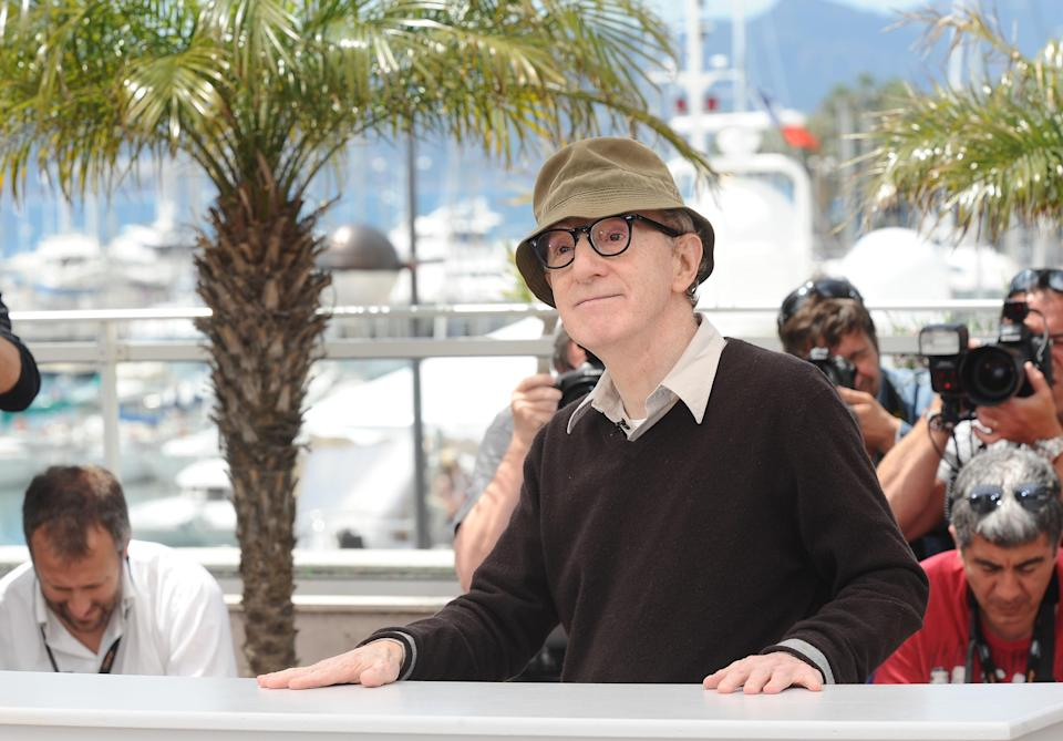 Woody Allen stands accused of molesting his then seven-year-old adopted daughter Dylan Farrow (Ian West/PA)