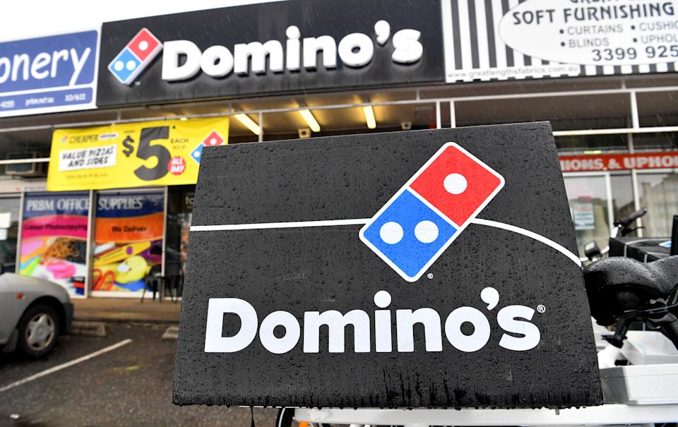 A Domino's Pizza store is seen in Brisbane. Source: AAP