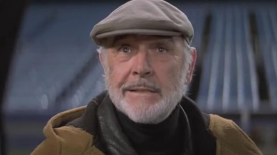 Sean Connery en 'Descubriendo a Forrester' (2000) (Photo: YOUTUBE)