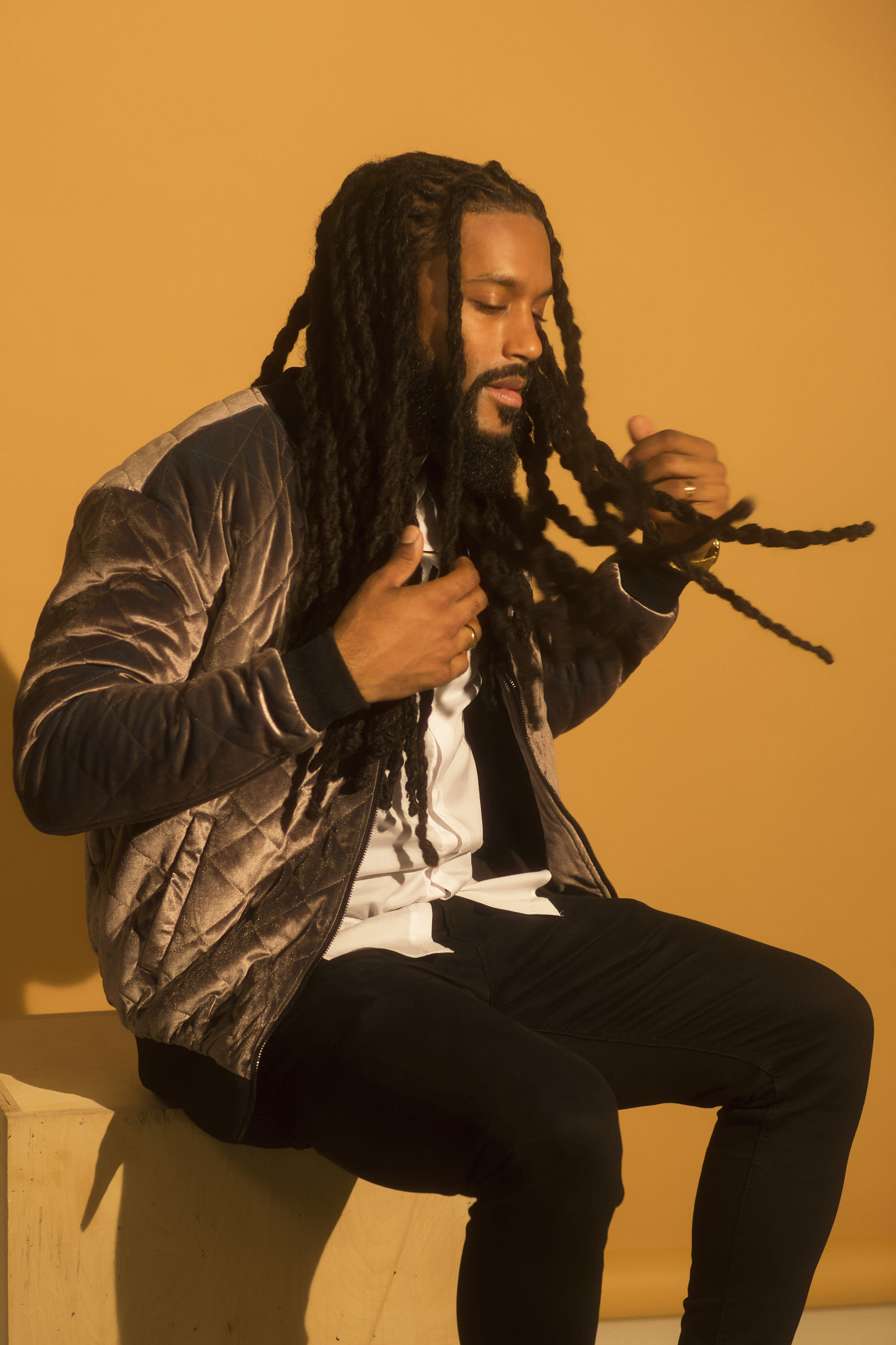 Musician and educator Brent Birckhead believes we need to have real and honest conversations about natural hair. (Photo: Natalia Mantini)
