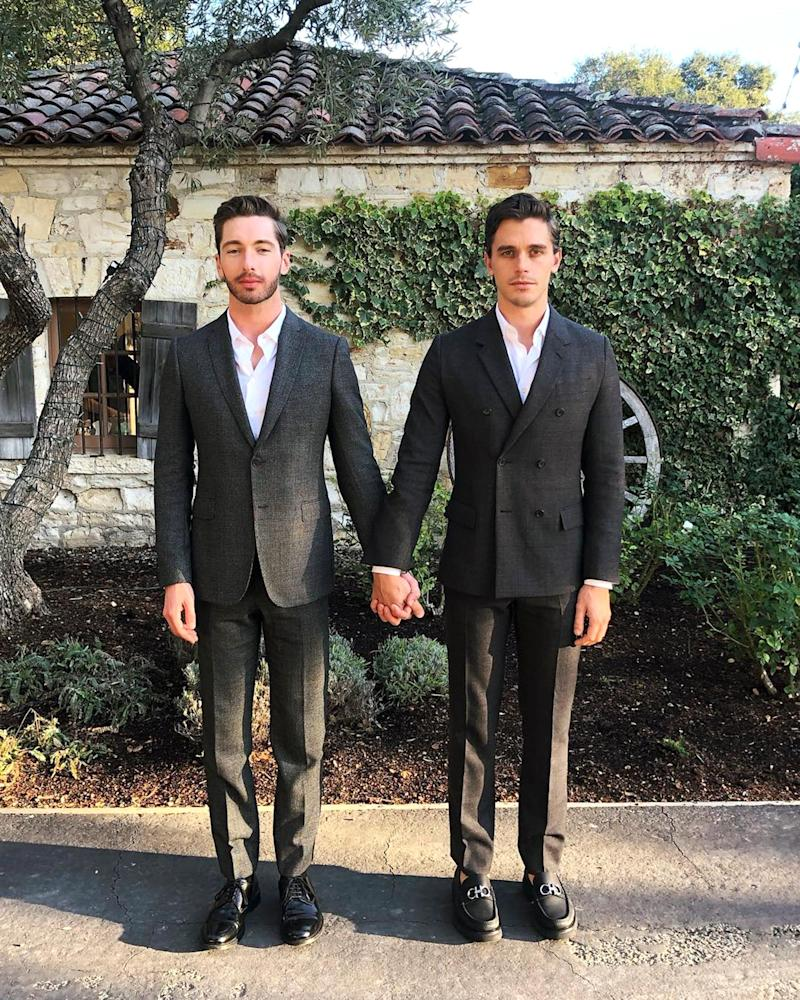 Queer Eye S Antoni Porowski Flipping Out S Trace Lehnhoff Make Their Instagram Debut As A Couple