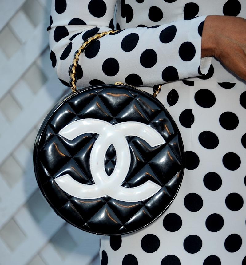 Chanel's logo. (Gregg DeGuire via Getty Images)