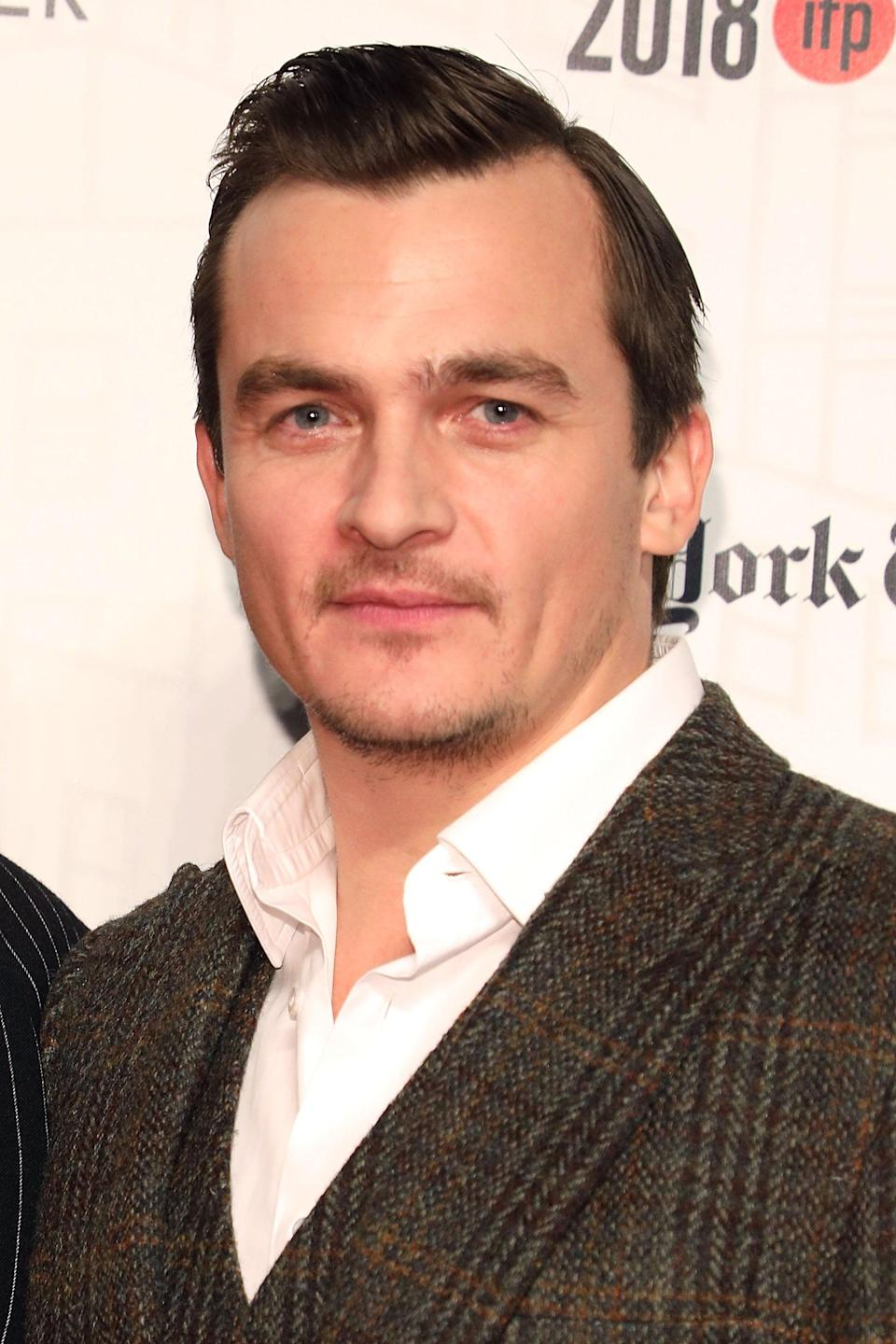 """<p>After an early career spent in British period dramas (he was Wickham in the <a class=""""link rapid-noclick-resp"""" href=""""https://www.popsugar.com/Keira-Knightley"""" rel=""""nofollow noopener"""" target=""""_blank"""" data-ylk=""""slk:Keira Knightley"""">Keira Knightley</a> <strong>Pride and Prejudice</strong>!), Friend has settled more into roles that combine drama with action. Most notably, he played Peter Quinn for several seasons of the espionage drama <strong>Homeland</strong>.</p>"""