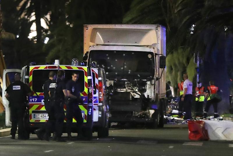 Court hearing seeks to ban Paris-Match photos of Nice attack