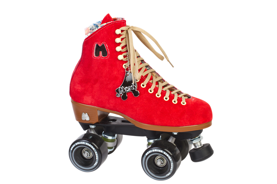 """<h3><a href=""""https://www.moxiskates.com/"""" rel=""""nofollow noopener"""" target=""""_blank"""" data-ylk=""""slk:Moxi Skates"""" class=""""link rapid-noclick-resp"""">Moxi Skates</a></h3><br>This female-founded, California-based company makes premium skates in some of the most eye-catching colors we've seen. <br><br>Inventory is in short supply at the moment, but you can still place an order for a pair of these USA-made leather skates to arrive in the fall.<br><br><br><strong>Moxi Skates</strong> Lolly Outdoor Complete, $, available at <a href=""""https://go.skimresources.com/?id=30283X879131&url=https%3A%2F%2Fwww.moxiskates.com%2Fcollections%2Foutdoor-lolly-completes%2Fproducts%2Flolly-roller-skates-poppy-red"""" rel=""""nofollow noopener"""" target=""""_blank"""" data-ylk=""""slk:Moxi Skates"""" class=""""link rapid-noclick-resp"""">Moxi Skates</a>"""