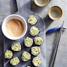 <p>Use cauliflower rice to turn classic cucumber-avocado sushi into a low-carb snack, lunch or appetizer. This roll is vegetarian-friendly and a no-egg mayo makes it great for vegans too. Make these rolls as you eat them, instead of letting them sit. The cauliflower rice can dry quickly, which makes rolling tricky.</p>