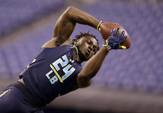 Michigan's Jabrill Peppers is a jack of all trades whose NFL position is a matter of conjecture. (AP)