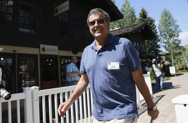 Chernin, CEO of The Chernin Group, arrives for lunch at the annual Allen and Co. conference at the Sun Valley