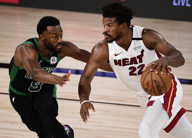 Jimmy Butler's bucket and Bam Adebayo's block deliver Game 1 win to open  Eastern Conference finals