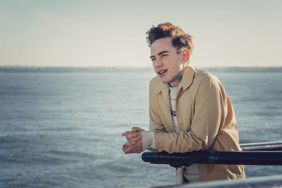Olly Alexander stars in the lead role of Ritchie in the Channel 4 drama. (Photo: Channel 4)