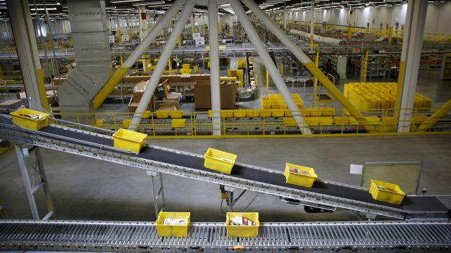 Amazon is building a mammoth logistics network.