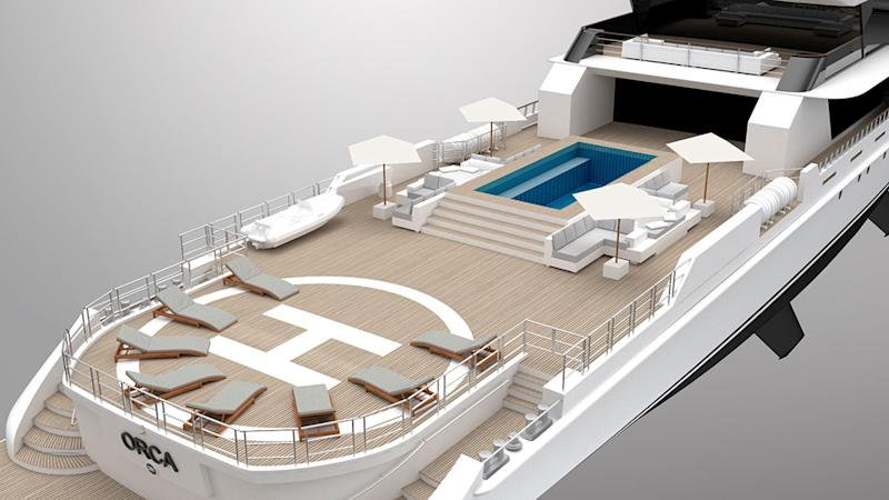 Rosetti Superyachts new Project Orca