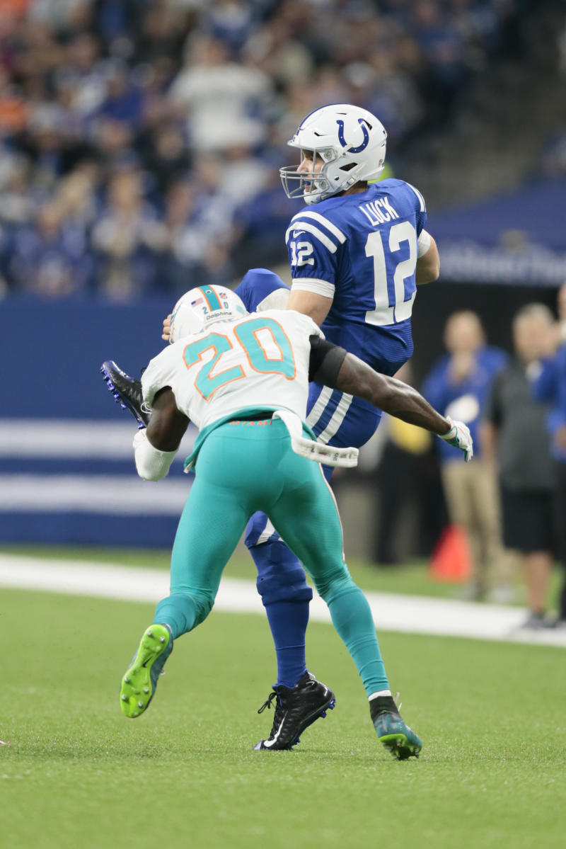 96a009a5f Dolphins  miscues prove costly in crucial 27-24 loss at Indy